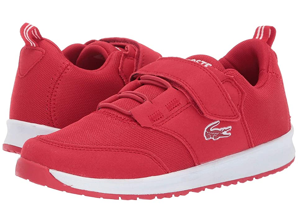 Lacoste Kids L.ight (Little Kid) (Red/White) Kid