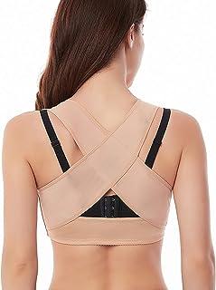 Werena حمالة صدر تصحيح الوضعية للنساء ملابس داخلية علوية داعمة داعمة حمالة صدر شكل X-Strap فيست