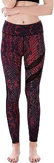 Aivtalk Women's Slim Snakeskin Printed Leggings Stretchy Ankle Length Yoga Pants