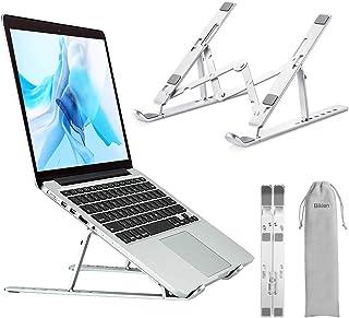 Bikien Support pour Ordinateur Portable,Refroidissement RéGlable Et Repliable Compatible Avec Macbook Air/Pro,Dell,Autres,...