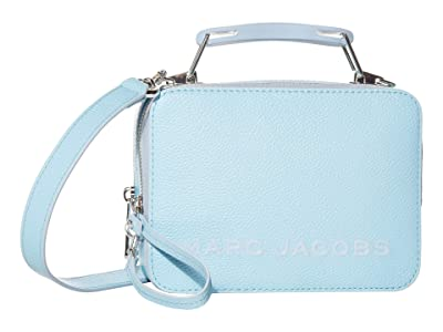 Marc Jacobs The Box 20 Crossbody (Light Blue) Wallet Handbags