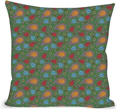 Amazon.com: Azul claro Throw almohada cojín cubierta por ...