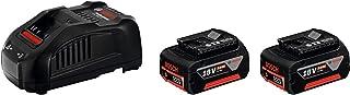 Bosch Professional 18V System Accu-Starterset (2X 5,0 Ah Accu, Snellader, In Doos)