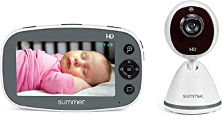"""Summer Pure HD 4.5"""" Color Video Baby Monitor – 3-Level Digital Zoom Baby Monitor with 12x More Pixels – Features Digital I..."""