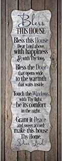 Dexsa Bless This House.New Horizons Wood Plaque
