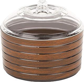 RoyalFord RF8220 Cherrywood Acrylic Candy Pot, 920ml