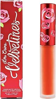 Lime Crime Velvetines Long-Lasting Liquid Matte Lipstick, Psycho - Blazing Orange -Long-Lasting Velvety Matte Lipstick - Won't Bleed or Transfer - Vegan