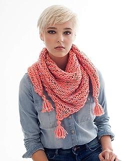 be25f1c8a2eda7 Phildar Kit de Tricot Pack conçu pour Tricoter Un Chèche/Etole Adulte Femme  Phil Country