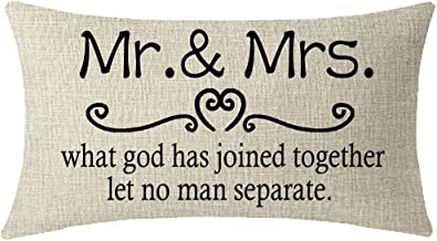Amazon Com Mr And Mrs Pillow