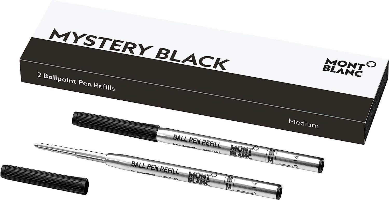 MONTBLANC Inexpensive Ballpoint Pen Refills M – Max 88% OFF Black Mystery 116190