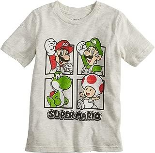 Boys 4-10 Nintendo Super Mario Bros. Grid Graphic Tee