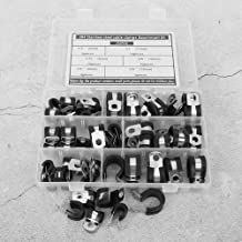 Cable Management 52pcs Cable Clip, Anti-corrosion Cable Clamp Kit, Racks Cables Pipes for Electric Wire Management