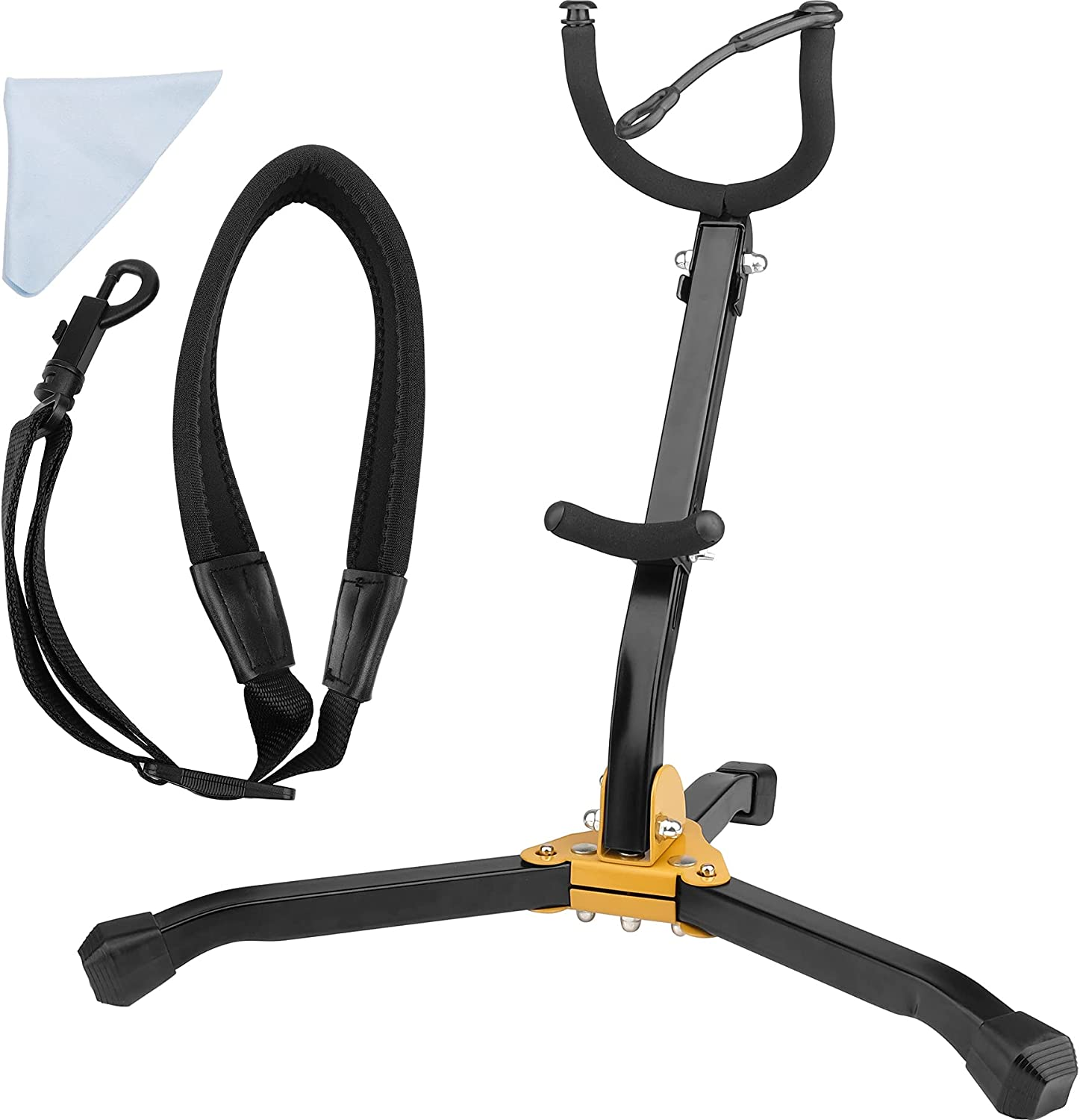 Eison New New product! New type item Saxophone Stand Foldable Tenor Sax Br Alto