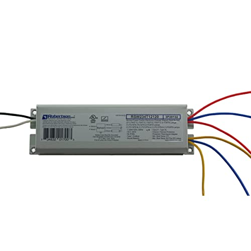 T8 Ballast: Amazon.com on ballast replacement diagram, fluorescent fixtures t5 circuit diagram, 4 bulb ballast wiring two, 2 bulb ballast wiring diagram, 4 pin ballast wiring diagram, two lamp ballast wire diagram,