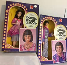 DONNIE AND MARIE OSMOND DOLLS