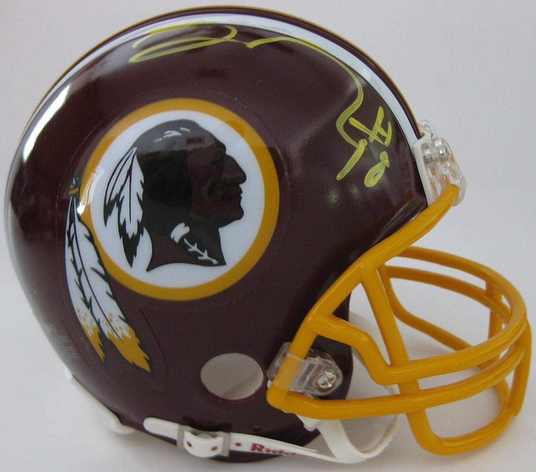 Josh Doctson Signed Mini Helmet  TCU coa Proof  Autographed NFL Mini Helmets