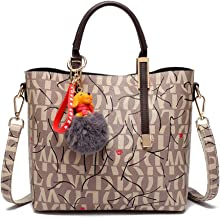FTSUCQ Womens Retro Satchels Shoulder Handbags Casual Bag Hobos Satchels Purse