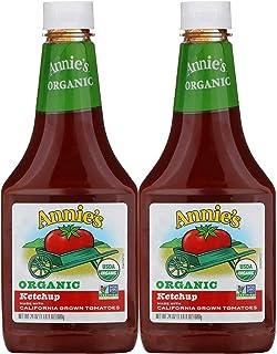 Annie's Homegrown Ketchup orgánico – 24 oz – 2 unidades