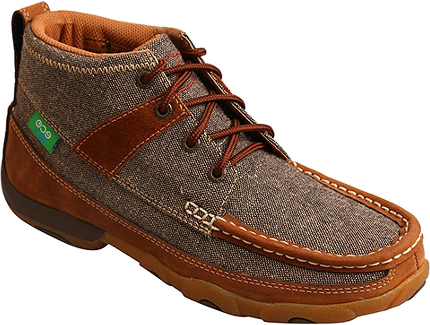 Twisted X Women's Eco TWX Lace Up Driving Mocs Moc Toe