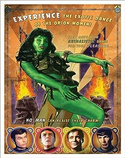 Culturenik Star Trek Dance of The Orion Women The Cage (Joe Corroney) Sci-Fi TV Television Show Print (Unframed 11x14 Poster)
