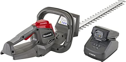 Mountfield MHT 20 Li Cordless Hedge Trimmer, For Trimming Garden Hedges and Bushes, 55 cm Dual Action Blades, 150 W, 20 V...
