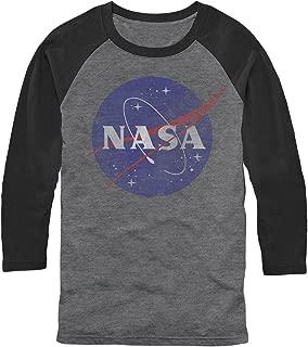 NASA Men's Logo Baseball Tee