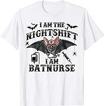 Cute Bat Halloween Apparel for Nightshift Nurse aka Batnurse