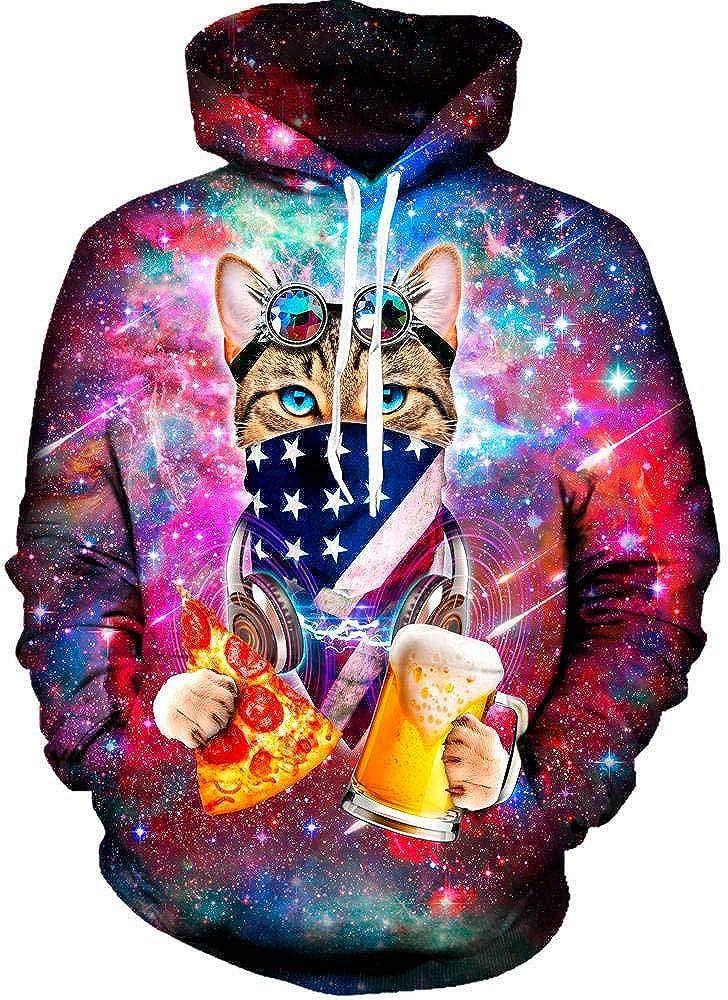 On Cue Apparel USA Hoodie Cat Rave Virginia Beach Mall Over item handling