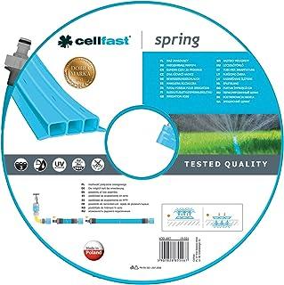 Cellfast Bewässerungsschlauch SPRING Dreikanalbewässerungsschlauch mit kompletten..