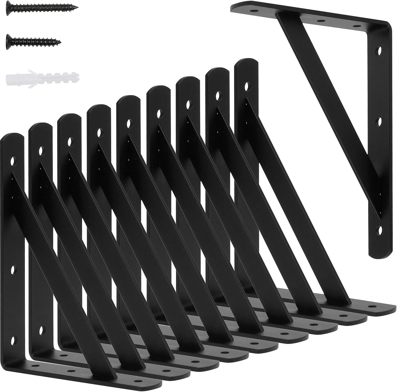 CONNOO Shelf Brackets 8 inch for Heavy Floating Superlatite 6 Max 76% OFF x