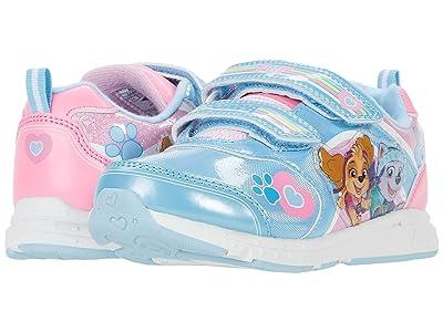 Josmo Kids Paw Patrol Lighted Sneaker (Toddler/Little Kid) (Light Blue/Pink) Girl