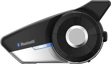 Sena 20S-EVO-01 20S EVO, Sistema de comunicación Bluetooth para Motocicletas, Negro, Single Pack