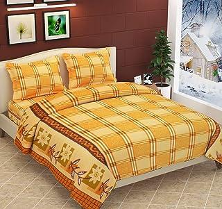Fabture Fabric 180 TC Bedsheet (Standard_Silver)
