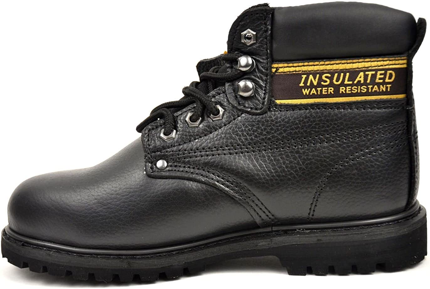LABO Men's Genuine Leather Work Boot CITISHOESNYC in 5 Style Colorado Springs Mall by shipfree