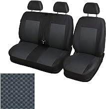 Funda protectora para asientos de furgoneta y camioneta, 2 + 1