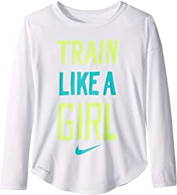Train Like a Girl Modern Tee (Little Kids)