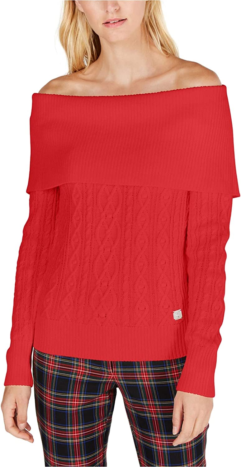 Max 79% OFF Tommy Popular standard Hilfiger Womens Solid Sweater Pullover