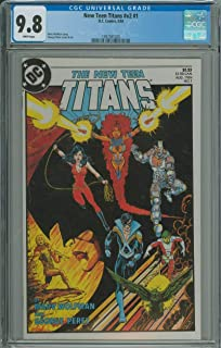 NEW TEEN TITANS (VOL. 2) #1 CGC 9.8 WHITE PAGES