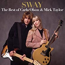 Sway: The Best Of Carla Olson & Mick Taylor (Opaque Red Vinyl)