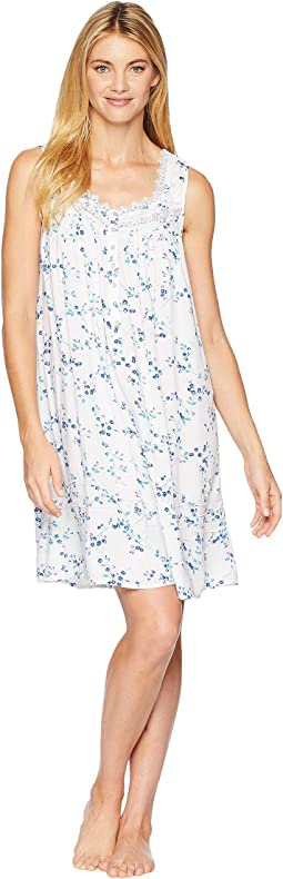 Cotton Lawn Short Chemise