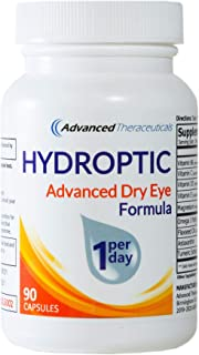 HYDROPTIC Dry Eye Formula (One-Per-Day) 90 Day Supply + FREE SHIPPING