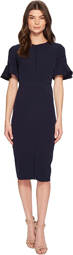 Sheath Dress with Trim Detail