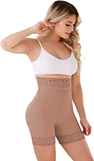 SCS003 Butt Lifter Shorts Levanta Cola Colombianos High-Compression Girdle with perineal Zipper