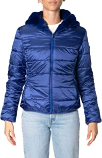 Save The Duck Luxury Fashion Womens D3354WFURY901502 Blue Down Jacket | Fall Winter 19