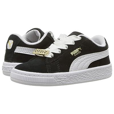 Puma Kids Suede Classic BBOY Fabulous (Toddler) (Puma Black/Puma White) Boys Shoes