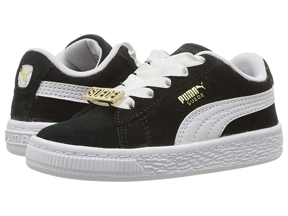 Puma Kids Suede Classic BBOY Fabulous (Toddler) (Puma Black/Puma White) Boys Shoes