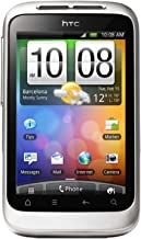 HTC Wildfire S Unlocked GSM Touchscreen Android Smartphone - White/Silver