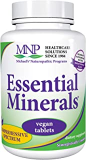 Michael's Naturopathic Programs Essential Minerals - 120 Vegan Tablets - Supports Nerve Communication & Proper Functioning...