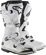 Alpinestars Tech-8 RS Boots (8) (White Vented)