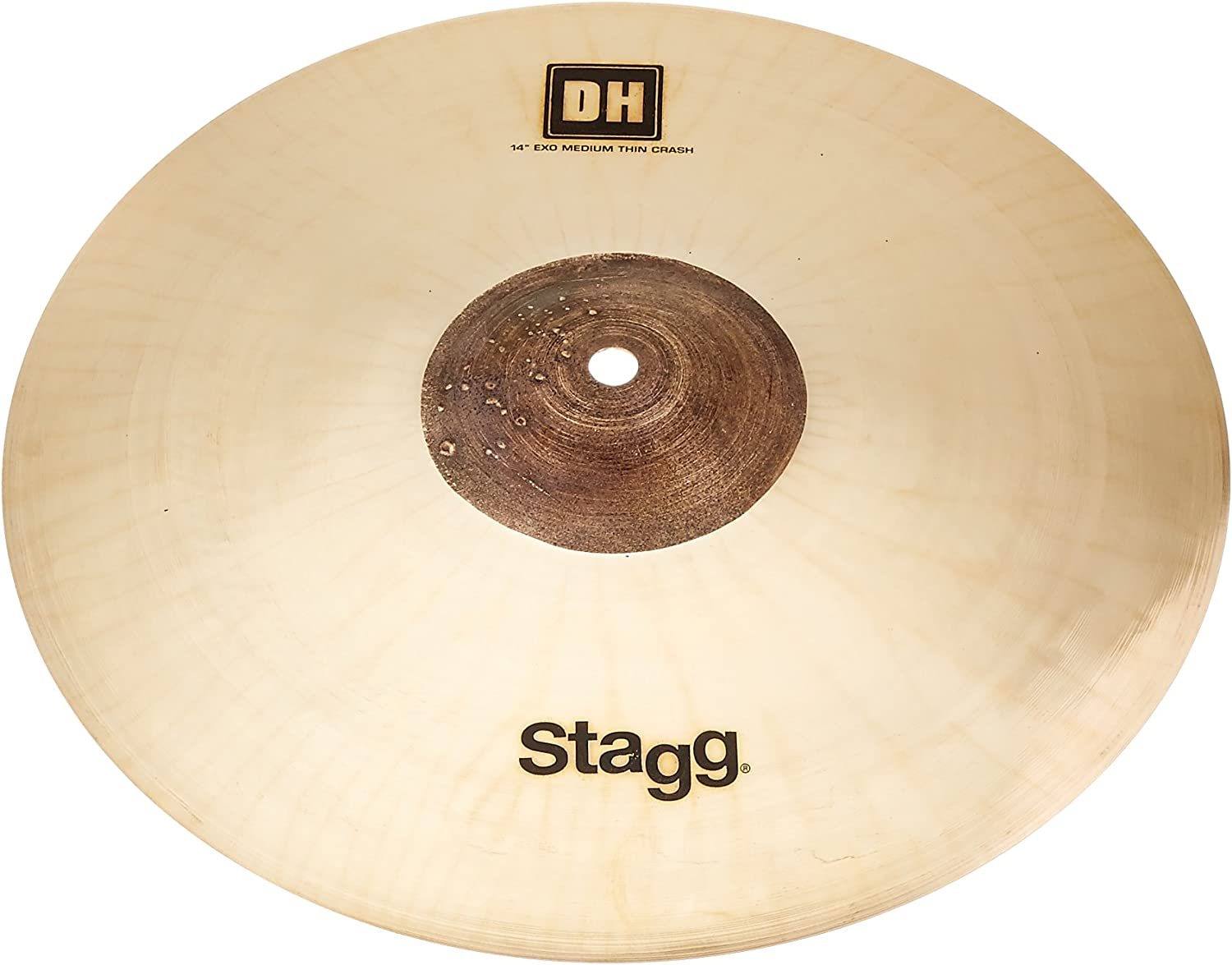 Stagg DH-CMT14E 35% gift OFF 14-Inch DH Exo Crash Cymbal Medium Thin